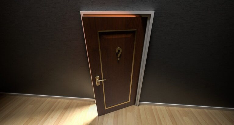 door, open, doorway
